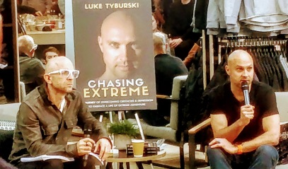 Chasing Extreme book launch
